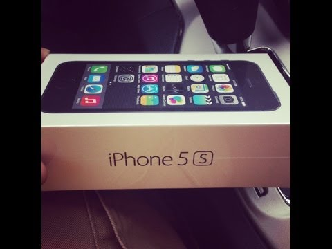 iPhone 5S (Space Grey) Unboxing : T-Mobile 4G & LTE
