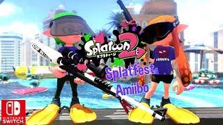 Nintendo Splatoon 2 Amiibo Take Photos With Splatfest Tee Tsubuan Switch