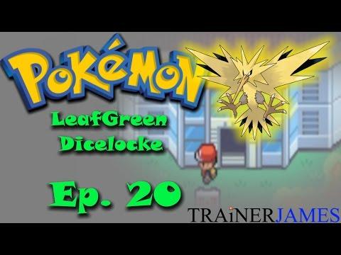 A Legendary Bird is in the Power Plant! - Part 20 | Pokemon Leaf Green Dicelocke