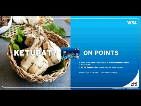 DINE ON POINTS WITH CITI REWARDS CARD