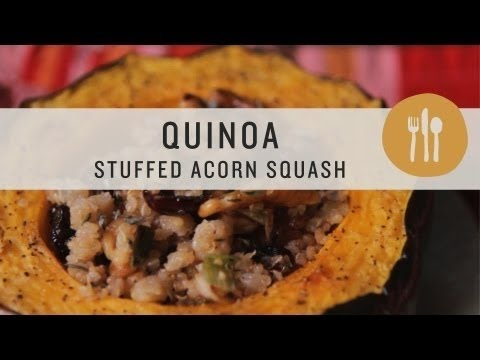 Superfoods - Quinoa Stuffed Acorn Squash