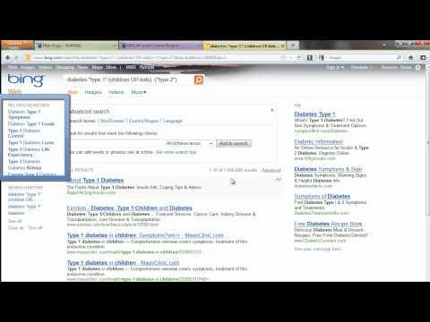 Bing Advanced Search Demo
