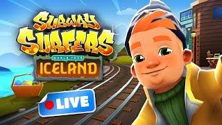 🎮 Subway Surfers World Tour 2018 - Iceland Gameplay Livestream