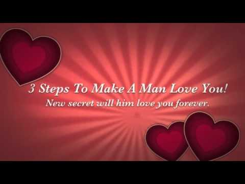 Copy This  3 Steps to Make ANY Man Love You!Fall Madly In love with You!