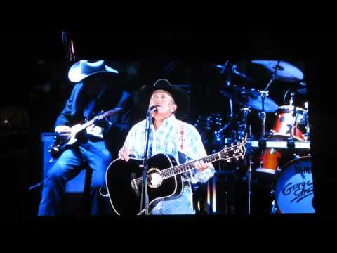 George Strait - I Believe (live @ AT&T Stadium 06/07/2014)