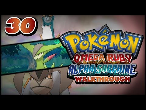 Pokémon Omega Ruby and Alpha Sapphire Walkthrough - Part 30: Cobalion, Terrakion and Virizion!