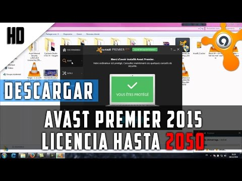 Descargar Avast Premier 10 2015 | Licencia Hasta el 2050 | HD