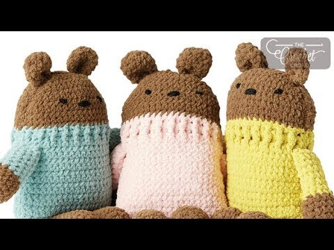 How to Crochet Square Bears