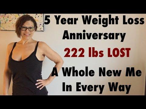 5 Year Weight Loss Anniversary
