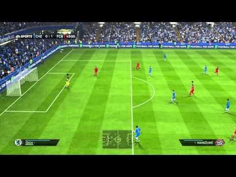 FIFA 14 Xbox One - Chelsea vs. Bayern «» Let's Play FIFA 14 | Full HD