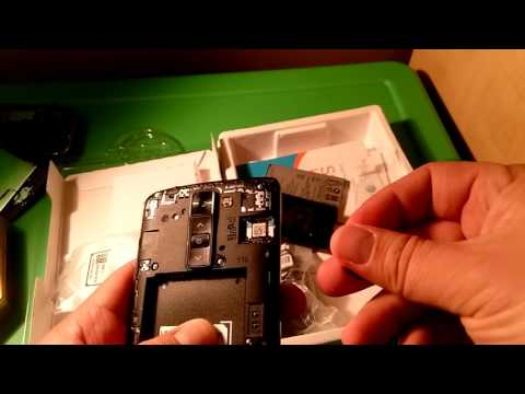 Unboxing my LG Phoenix 2 AT&T Go Phone.  Easily Unlocked by AT&T Website.
