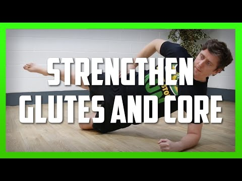 Bent Knee Side Plank for Glute Med & Core Strength