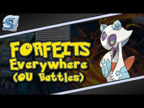 Pokemon Showdown: Forfeits Everywhere (OU Battles)