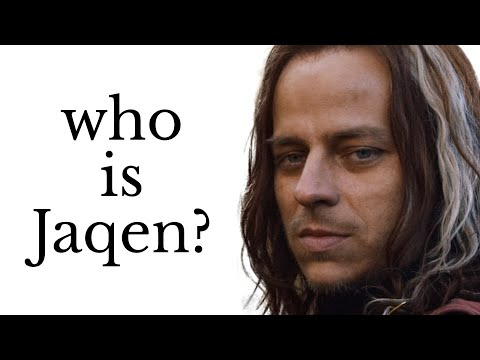 What's up with Jaqen H'ghar and the Faceless Men?
