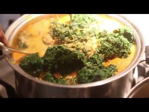 How to make Egusi soup | Nigerian Food | DIY