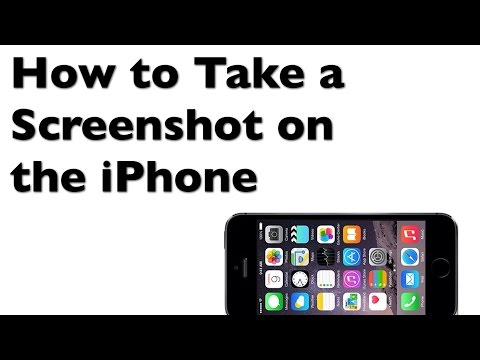 How to Take a Screenshot on the iPhone
