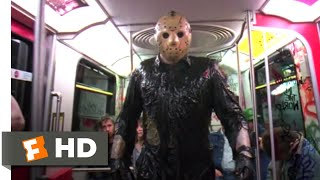 Friday the 13th: Jason Takes Manhattan (1989) - Subway Chase Scene (8/10) | Movieclips