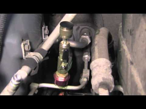 Finding and fixing an A/C Leak