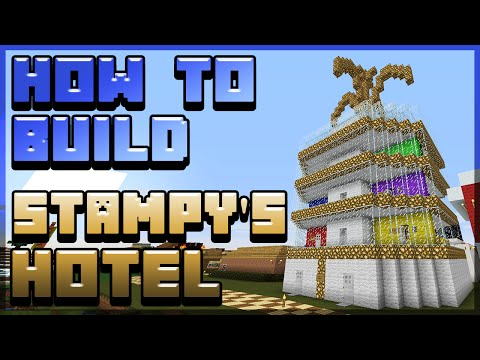 How to build Stampy's Hotel! [1/5] - Minecraft Tutorial