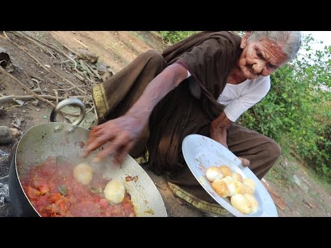 My 105 years Grandma's Yummy Egg Curry  |  World Best Egg Recipe |  Country Foods