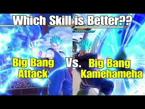 Dragon ball Xenoverse 2 Skill Test! Big Bang Attack Vs. Big Bang Kamehameha!!