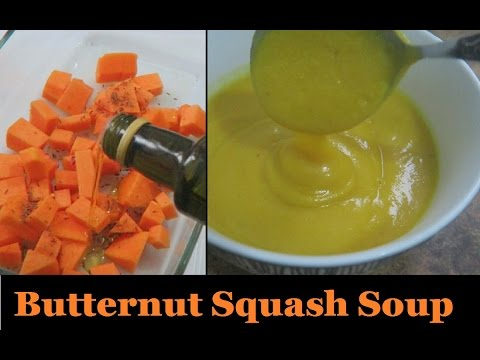 Butternut Squash Soup For One