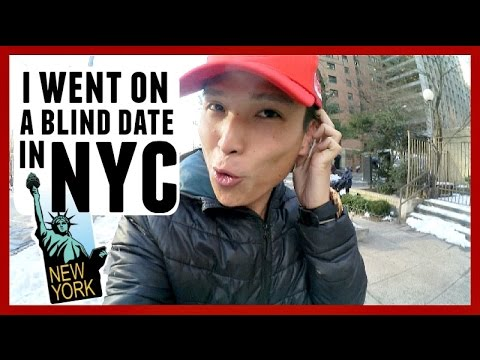 I WENT ON A BLIND DATE IN NYC!!!