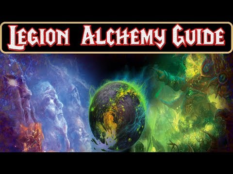how to level Alchemy 1-800 and make major profit