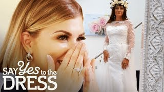 Bride Falls in Love With a Dress That