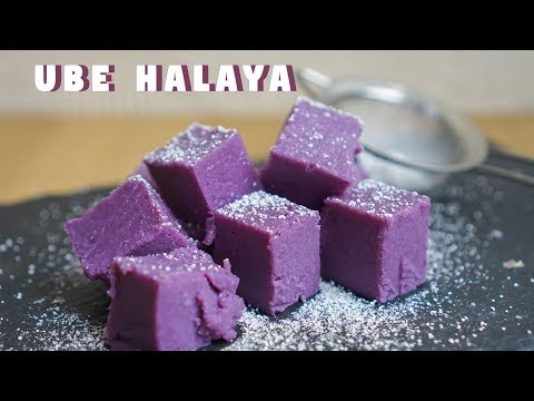 How to Make Ube Halaya - Purple Yam/Ube Jam | Filipino Food | Hungry for Goodies