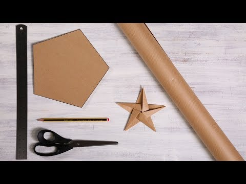 How to make a crafty paper star
