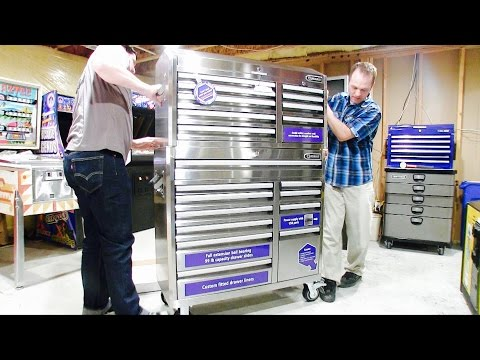 Lowe's $1000 Tool Chest   Assembly & Review KOBALT