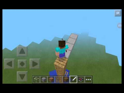 Tallest ever MCPE diving board!
