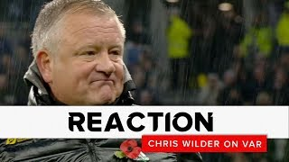 Chris Wilder on VAR   Tottenham Hotspur v Sheffield United   Premier League reaction