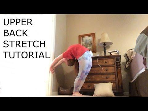 Upper-Back Stretch Tutorial
