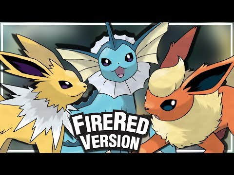 Pokémon FireRed- Como conseguir as três evoluções do eevee