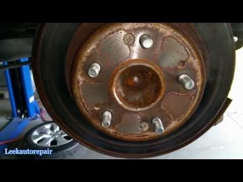 How to Replace Rear Brake Pads and Rotors 2008-2012 Honda Accord