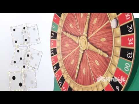 Motorized Free Standing Casino Spinning Roulette Wheel - Shindigz Party Decorations