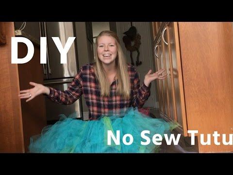 DIY No Sew Tutu