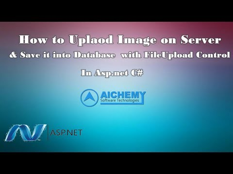 How to upload image on server and save into database with fileupload control in asp.net C#