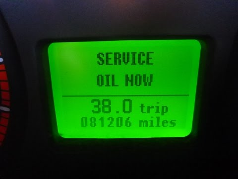 How to Reset the Service Oil Warning on a Ford Transit MK7 (2006 - 2014)