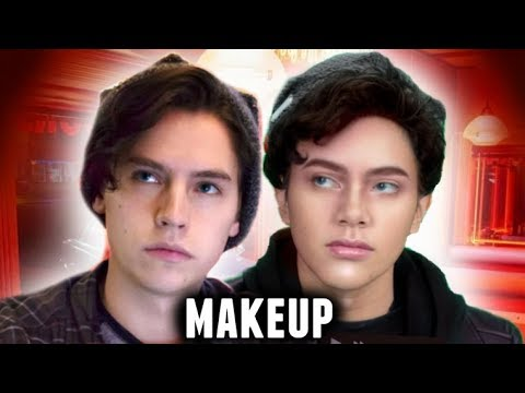 JUGHEAD JONES MAKEUP TUTORIAL! | Riverdale/Archie Halloween Costume Idea 2017🎃