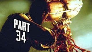 The Evil Within Walkthrough Gameplay Part 34 - Squid Boss (PS4)