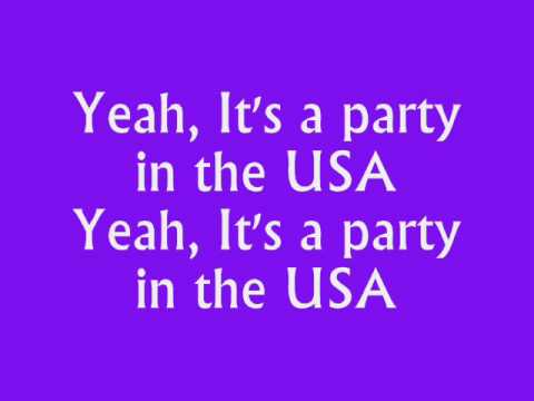 Miley Cyrus - Party In the USA Instrumental/Karaoke/Lyrics