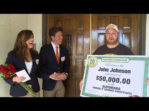 PCH's Winning 'N Spinning Winner John J.