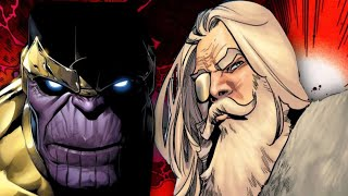 When Thanos Threw Down With Odin - Marvel Comics Explained