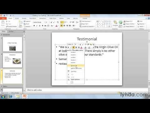How Spell checking  in powerpoint