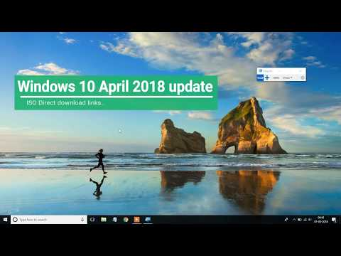 #Windows 10 April 2018 update download - Official iso direct links [How to ]