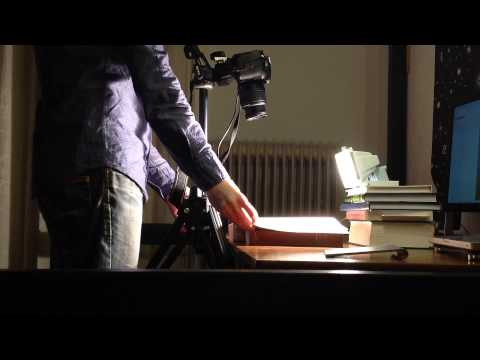 Using a DSLR Camera for Scanning Books