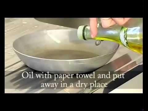 Steel Pan Seasoning - de Buyer